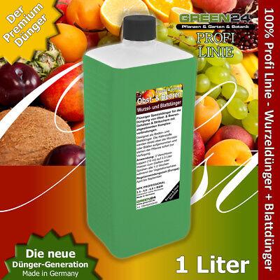 Obstbaum XL 1 Liter Beerenstrauch Dünger, düngen von Obst und Beeren NPK