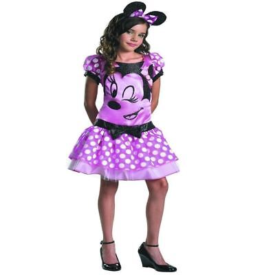 Disney Minnie Mouse Girl Kinder Halloween Party Kostüm Kleid Outfit 7-8 ()