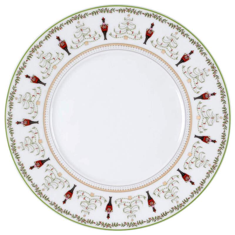 Bernardaud Grenadiers Dinner Plate 29635