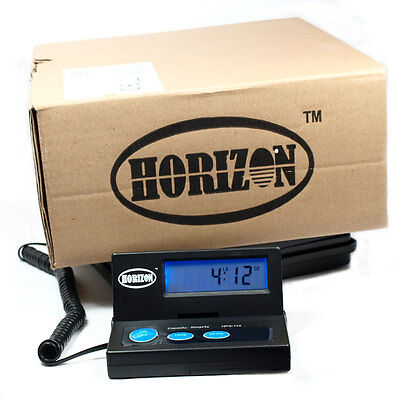 110 LB x 0.1 OZ Digital Postal Scale HPS-110 Platform Shipping Scale with AC