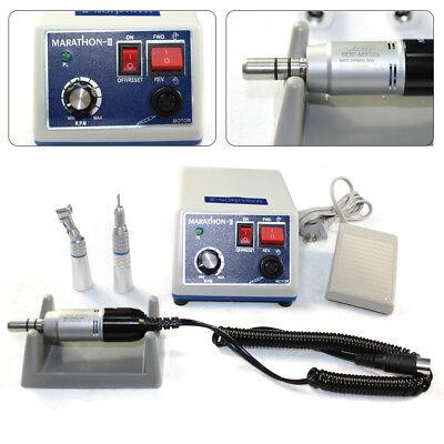 Dental Lab Maratón micromotor eléctrico Pulidora con 35K RPM handpiece de pulid