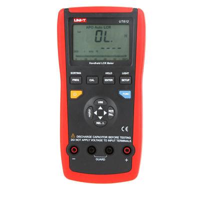 Ut612 Handheld Lcr Meter Inductance Capacitance Lcrdcrqdesr Test 100khz
