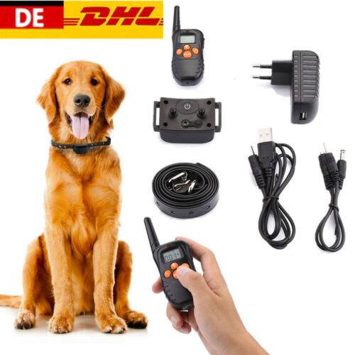 Hunde Antibell Ton&Vibrations-Erziehungshalsband Fernbedienung Ferntrainer Ton