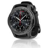 Samsung Gear S3 Frontier SM-R765V Verizon Smartwatch Large Black Silicone Band