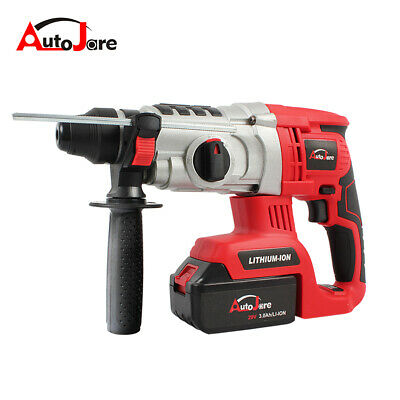 New Cordless Rotary Hammer Drill Brushless Sds Plus Lithium-ion Li-ion Battery
