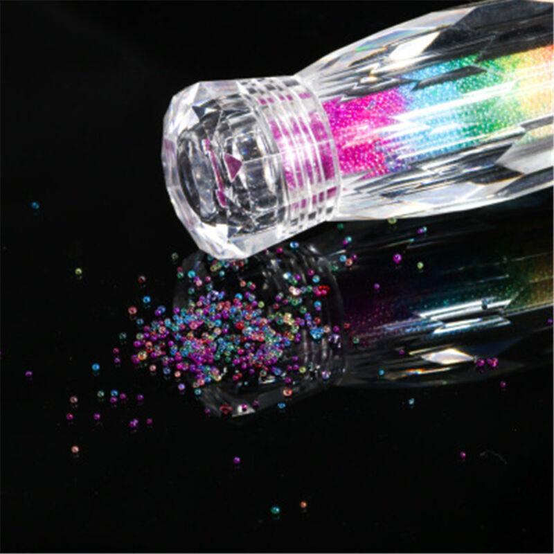 1440pcs Pcs Nail Art Rhinestones Glitter Diamond Gems 3D Tips DIY Decoration