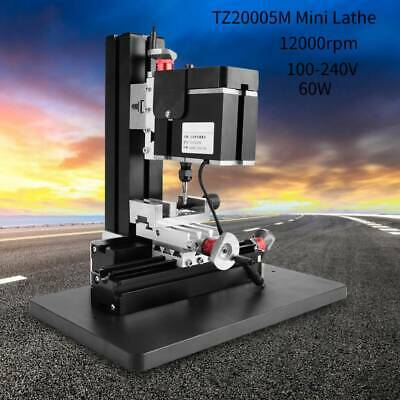 High Power Mini Metal Lathe Diy Cnc Tool Micro Milling Machine Millier 12000rpm