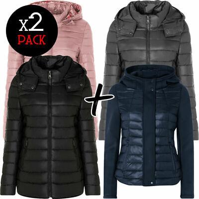 Coppia piumini donna ARTIKA Ultralight Jackets giubbino giacca cappuccio