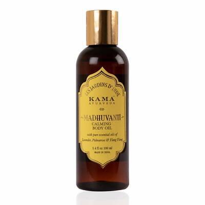 Kama Ayurveda Madhuvanti Beruhigend Massageöl Baby-öl, 3.4 Fl OZ , 100 ML
