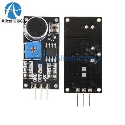10pcs Sound Detection Sensor Module Sensor Intelligent Vehicle For Arduino Car