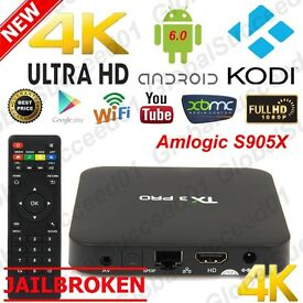 ANDROID TV BOX (latest kodi all addons for latest movies sports etc simple set up)