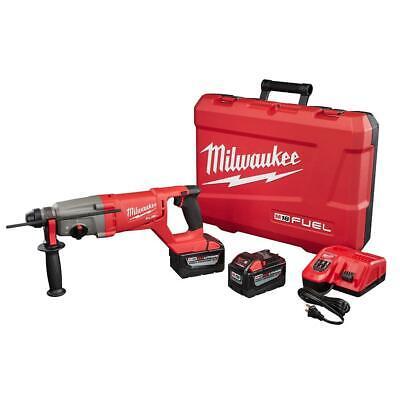 Milwaukee 2713-22hd M18 Fuel 1 Sds Plus D-handle Rotary Hammer 9.0 Ah Batteries