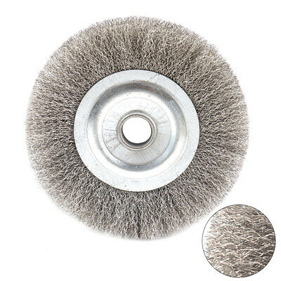 4 Stainless Steel Wire Wheel 58 Bore Saw Table Chip Removal Polishing Brush