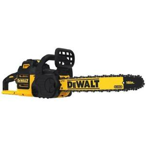 "NEW DEWALT DCCS690B 40V Lithium Ion XR Brushless 16"" Chainsaw Bare Tool"