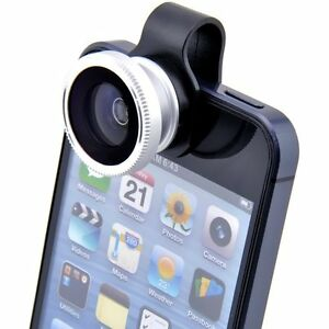 180-Fish-Eye-Detachable-Clip-on-Lens-Camera-Cover-for-iphone-4-4S-4G-5-Samsung