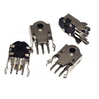 6pcs Mouse Encoder Wheel Encoder Repair Parts Switch 11mm New