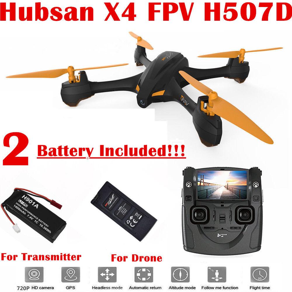 Hubsan H507D X4 Drone 5.8G FPV 720P Altitude Headless Follow Me GPS Quadcopter
