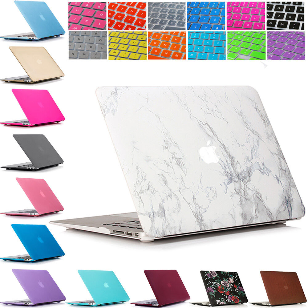 Plastic Hard Case Shell  + Keyboard Cover for Macbook Air 11
