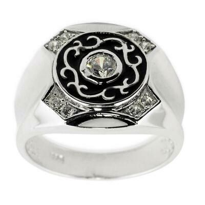 925 Sterling Silver Rhodium-Tone and Cubic Zirconia Polished Shortener