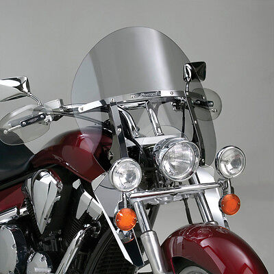 NATIONAL CYCLE SWITCHBLADE WINDSHIELD CHOPPED CLEAR FITS TRIUMPH TH