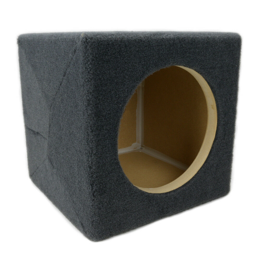 0.30 ft^3 Sealed MDF Sub Woofer Enclosure for Single JL Audi
