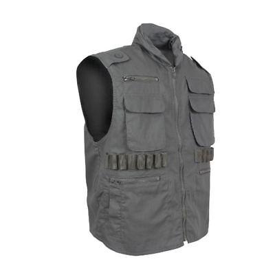 Olive Drab Ranger Vest (Olive Drab Military Tactical Ranger Vest With Hood Rothco)