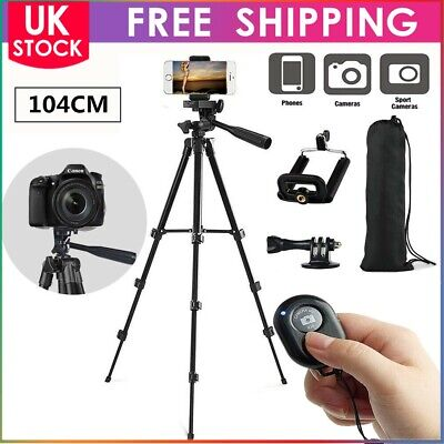Universal Professional Camera Tripod Stand Holder Bag Smartphone iPhone Samsung