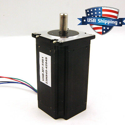 High Torque 3nm 425oz.in Nema 23 57mm Stepper Motor Cnc Mill Lathe Router