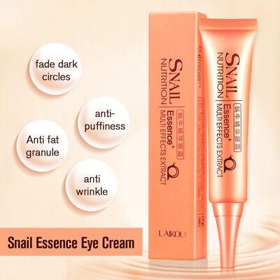 Remove Dark Circle Wrinkle 30g Snail Essence Firming Eye Cream Collagen DIH