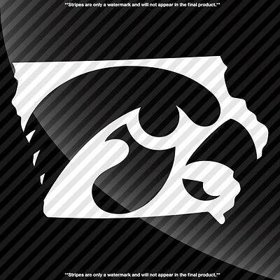 Iowa Hawkeyes Ia State Pride Decal Sticker   Tons Of Options