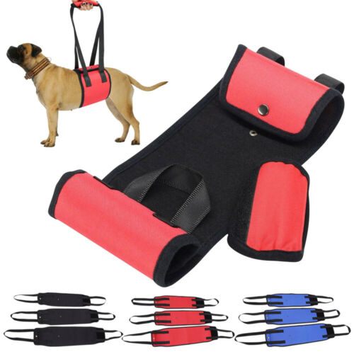 Photo New Portable Dog Lifting Support Harness Sling Help Dogs Weak Legs Stand Up