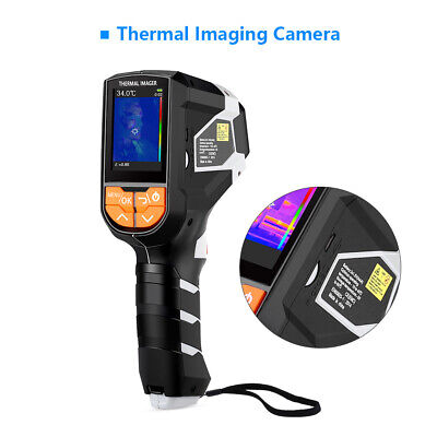 Thermal Imaging Camera Infrared Thermometer Temperature Digital Lcd 1024 Pixels
