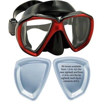 RX Prescription Scuba Dive Snorkeling Fish Eyes Mask Big -