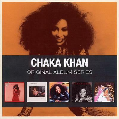 Chaka Khan Original Album Series Box Set Naughty I Feel For You New Sealed 5 Cd