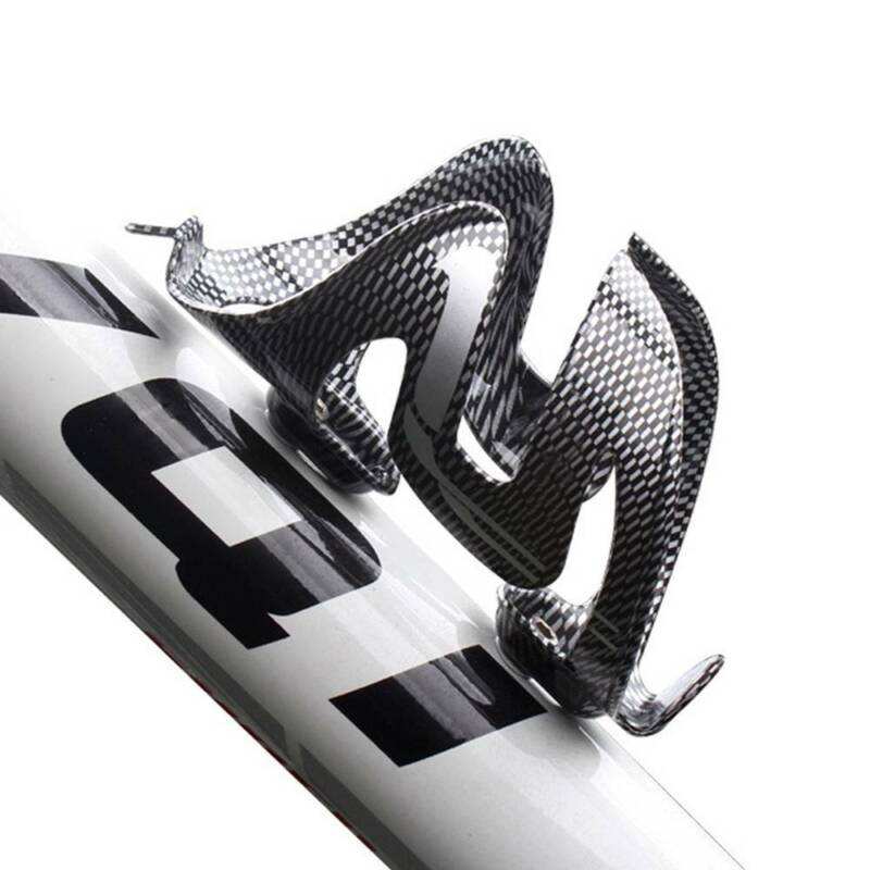 Bicycle Water Bottle Cage Mountain Bike Carbon Fiber Bottle Holder Drinking Rack Bicycle Accessories