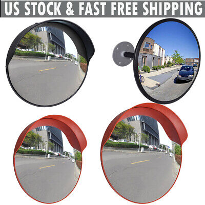 Outdoor Traffic Convex Mirror Road Street Safety Wide Angle Adjusted 121824