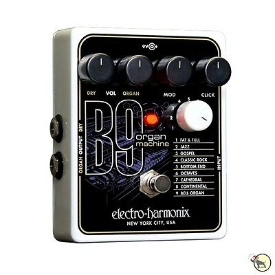 Electro Harmonix B9 Organ Machine Electric Guitar Keyboard Fx Effects Pedal
