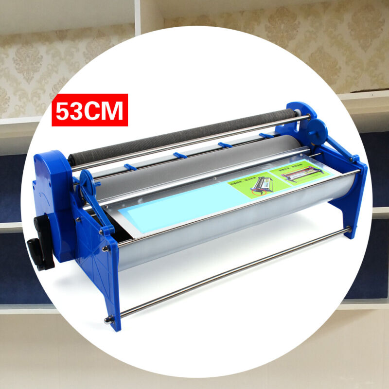 Make It Selfadhesive Handcrank Wallpaper Roller Gluing Thick Glue Paste Machine