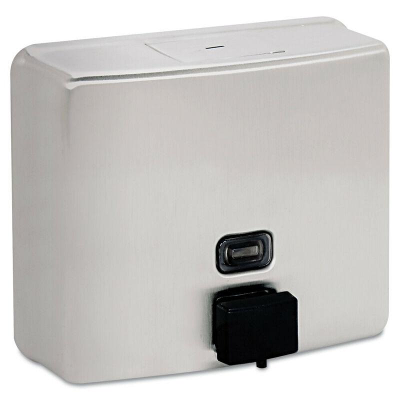 Bobrick Conturaseries Surface-Mounted Liquid Soap Dispenser 40oz SS 4112 NEW