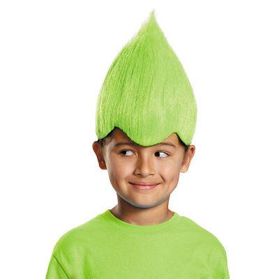 Child Green Wacky Troll Costume - Green Troll Wig