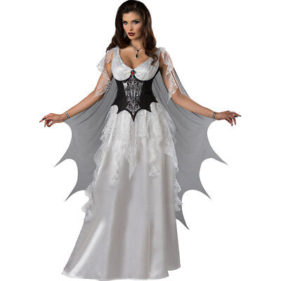 Women's Vampire Halloween Costumes (Womens Sexy Vampire Countess Halloween)