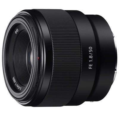 Sony FE 50mm F/1.8 Lens for E-Mount Cameras #SEL50F18F