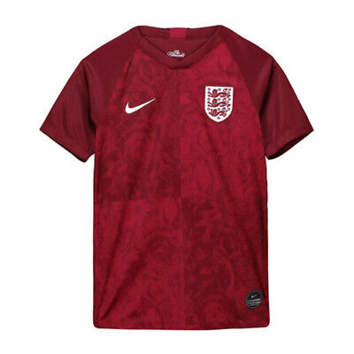 Genuine Nike England Football Shirt Away 2019 Junior Kids Lioness Age 8-9 in Red