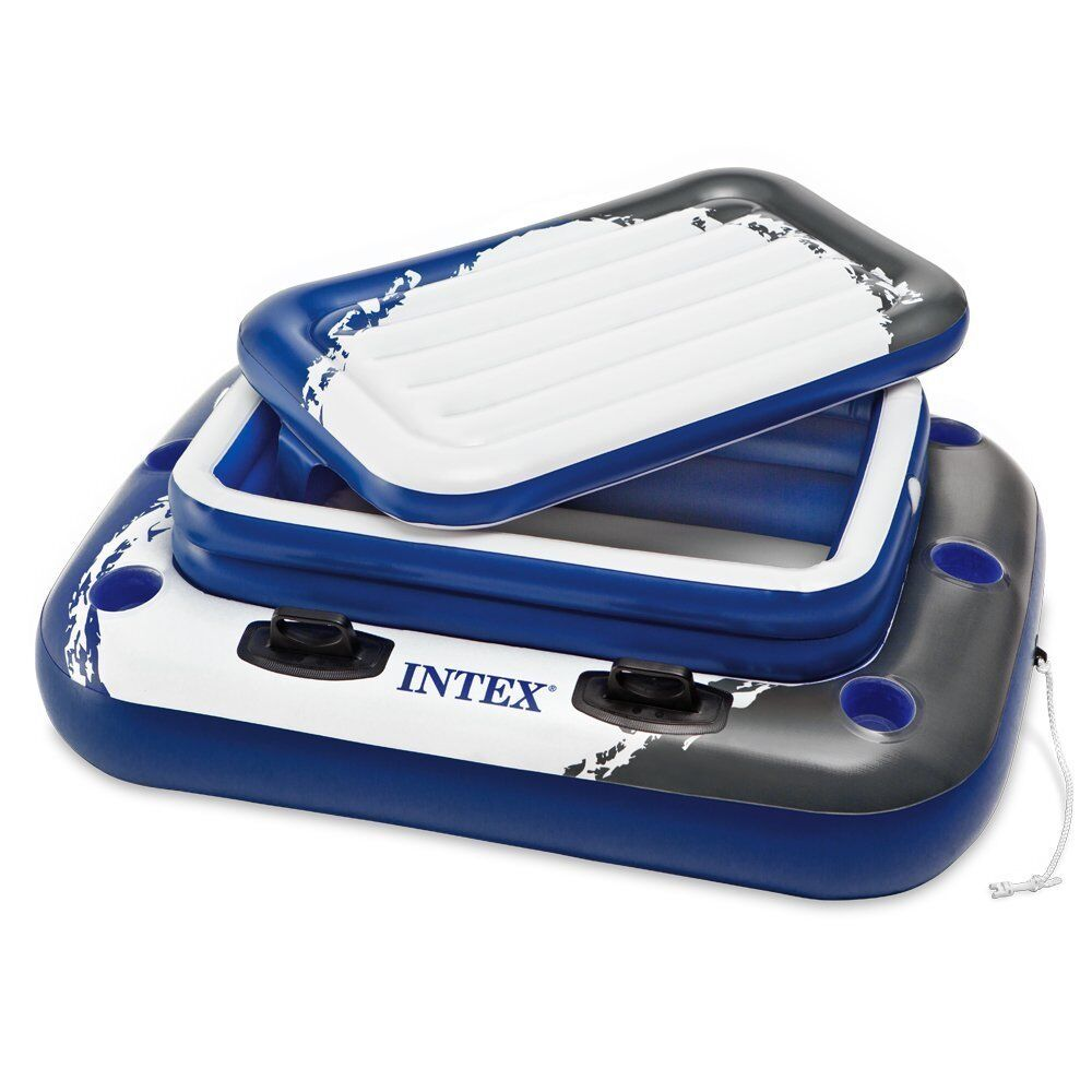 Intex Recreation Inflatable Pool Cooler Floating Party Fl...