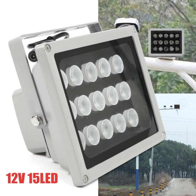 10x IR Infrared 15 LED Night Vision Illuminator Light Camera Lighting Lamp 12V