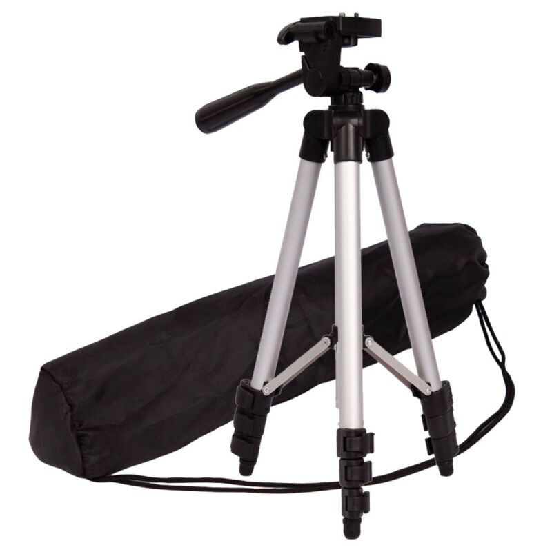 Professionfor fTripod for Digital Camera Camcorder Portable Outdoor Phone Tripod