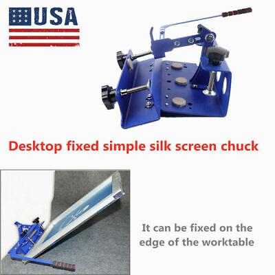 Diy Desktop Simple Silk Screen Printing Press Printer T-shirt Equipment Clamp