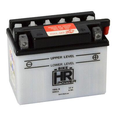 Rollerbatterie YB4L-B 12V 4Ah CB4L-B 50411 Quad Motorrad Moped Starter Batterie