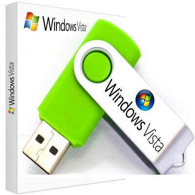 Windows Vista Home Premium 32/64 Recovery Reinstall Repair PC Laptop USB Stick (Windows Vista Home Premium Laptop)