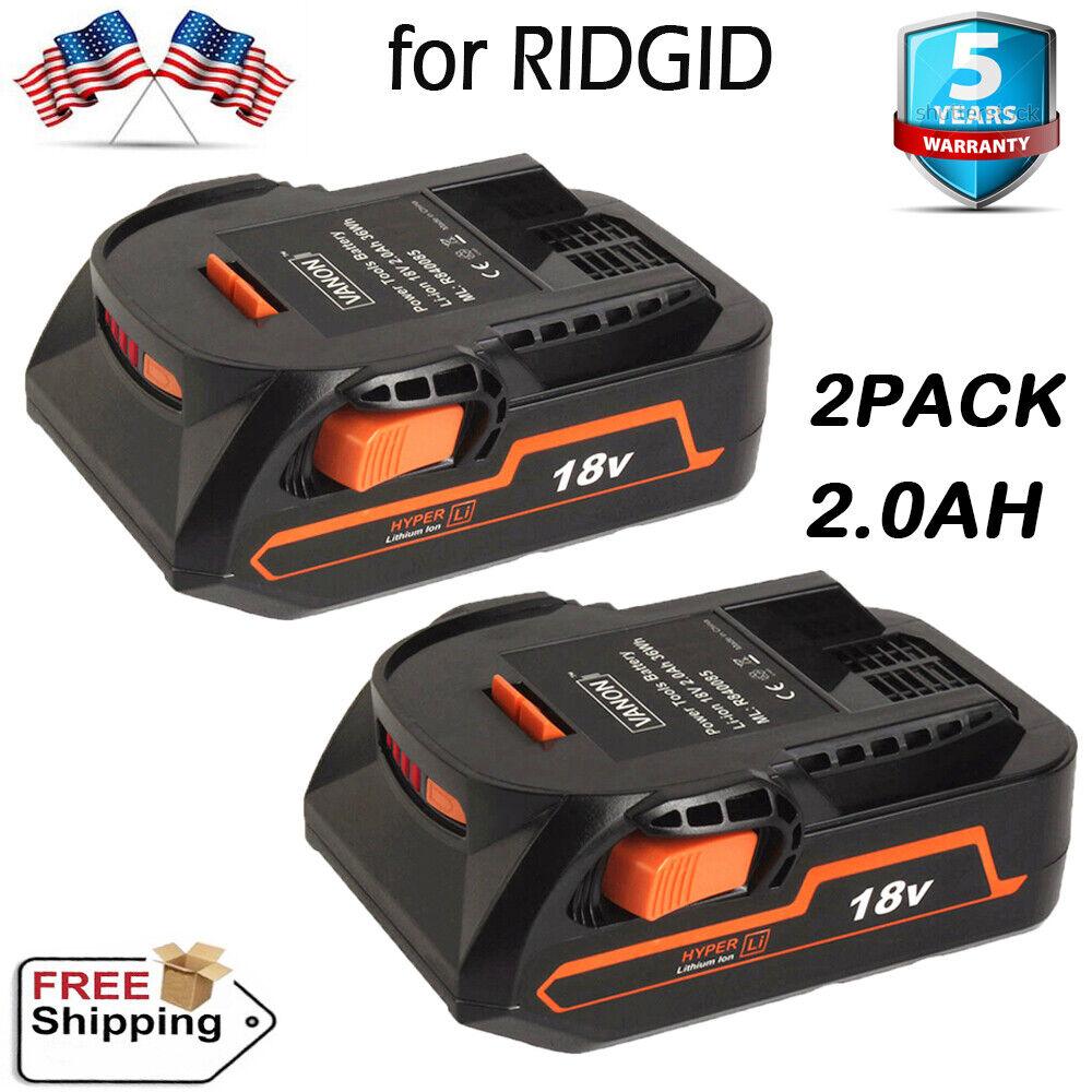 Ridgid AC840087P 18 Volt 4 Amp Hour Lithium-Ion Battery w/ O